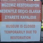 Iznik Museum sign
