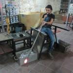 Murat blowing